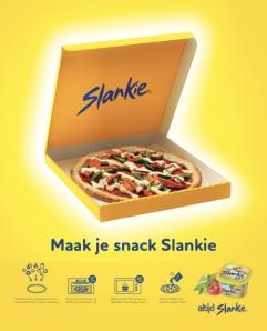 slankie pizza ad