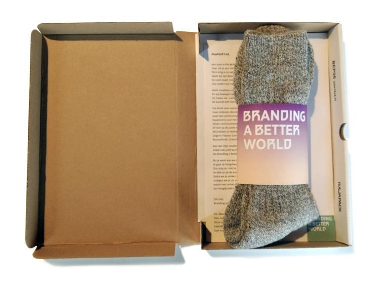 doos met sokken
